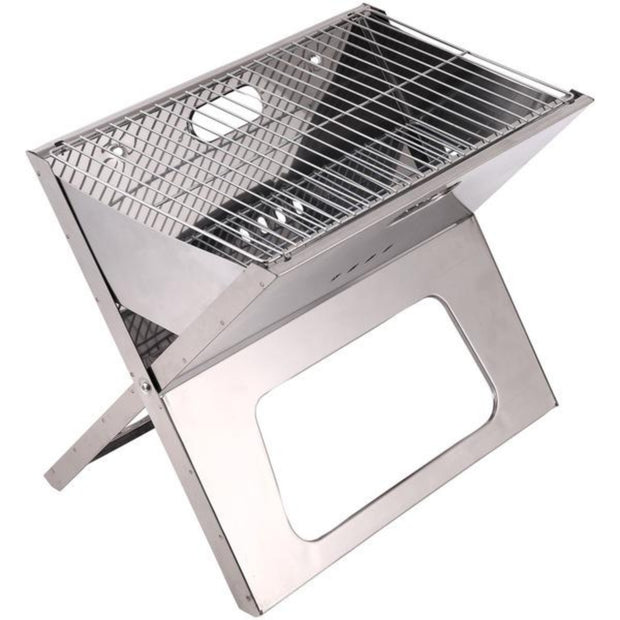 "18"" Portable Folding Charcoal BBQ Grill"