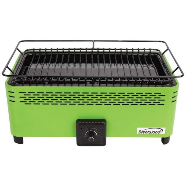 Rectangular Nonstick Smokeless Portable BBQ