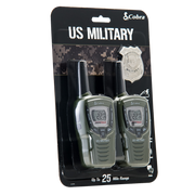 Cobra CX398A 25-Mile Weather Resistant Two-Way Radio/Walkie Talkie Green