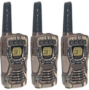 Cobra CXT1035R FLT CAMO 37-Mile Floating Two-Way Radio/Walkie Talkie Camo 3-Pack