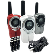Cobra ACXT360 23-Mile Two Way Radio/Walkie Talkie (3-pack)