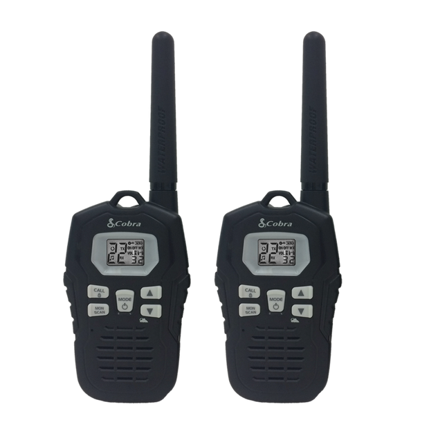 Cobra CXY800 Rechargeable 35-Mile Two-Way Radio Walkie Talkies
