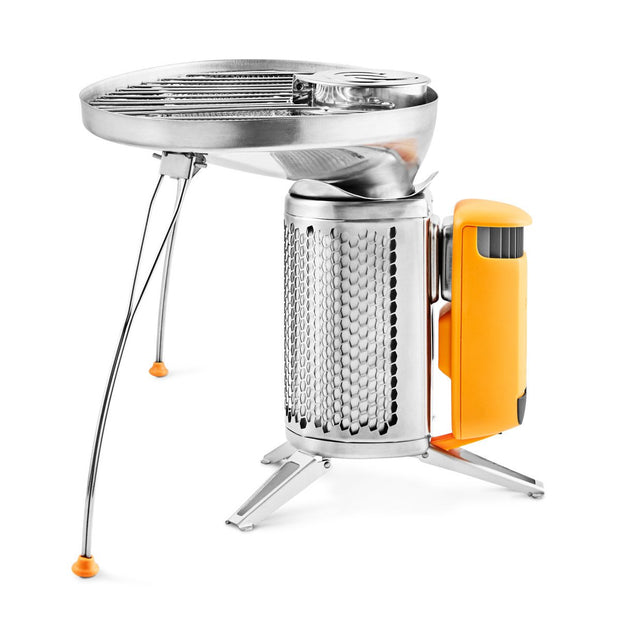 BioLite CampStove 2 Bundle - Portable Wood Cooking System - CSX2001