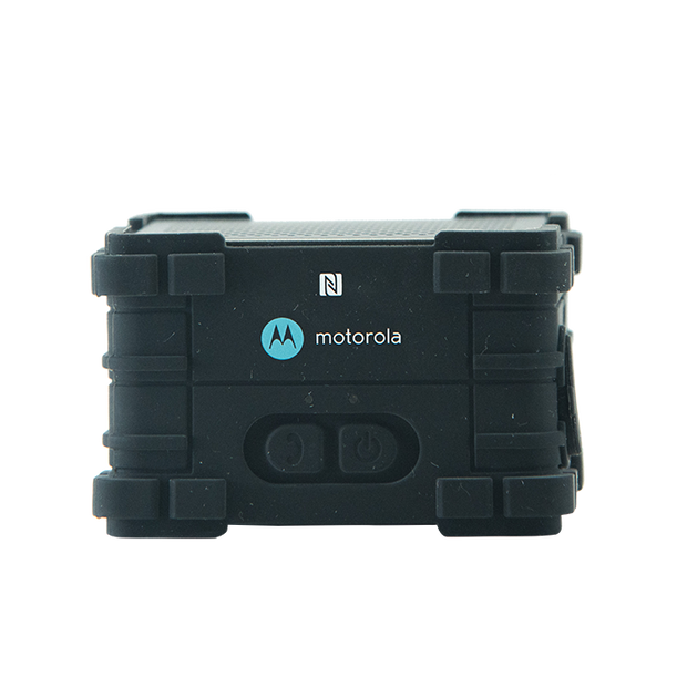 Motorola MS350 2.5W Hands Free Micro Ultra-Portable IPX4 Water Resistant Wave Bluetooth Speaker Black
