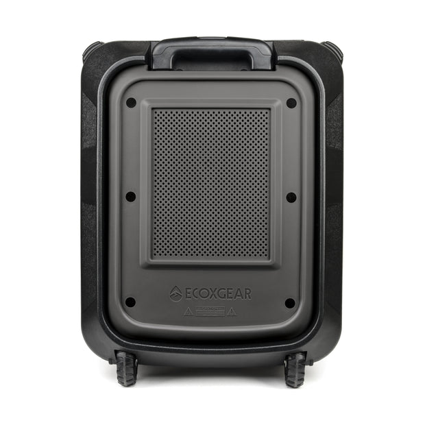 ECOXGEAR EcoBoulder+ Outdoor Waterproof 100W Bluetooth Camping & Tailgate Speaker + Power Bank