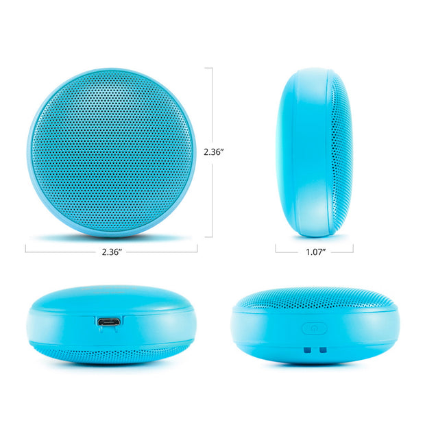ECOXGEAR EcoDrop - 3W IPX5 Ultra Portable Waterproof Bluetooth Camping & Tailgate Speaker