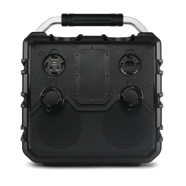 ECOXGEAR EcoTrek Outdoor Waterproof 100W Bluetooth Camping & Tailgate Speaker + Power Bank