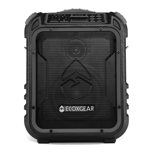 ECOXGEAR EcoXplorer Outdoor Waterproof 50W Bluetooth Camping & Tailgate Speaker + Power Bank