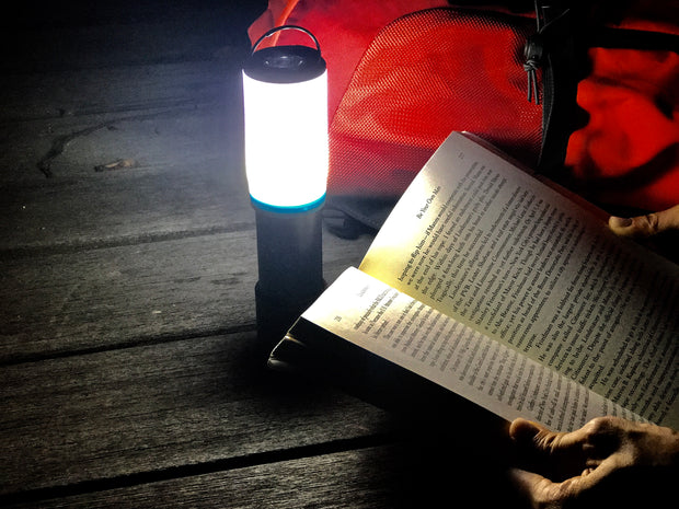 Motorola MSL160TP 180-Lumen LED Flashlight + Lantern Combo with Power Bank and Insect Repelling LUMO Lantern