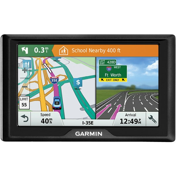 "Drive 51 LM 5"" GPS Navigator with Driver Alerts (US Lifetime Maps)"