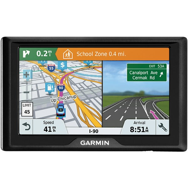 "Drive 51 LMT-S 5"" GPS Navigator with Driver Alerts & Live Traffic (Lifetime US Maps)"