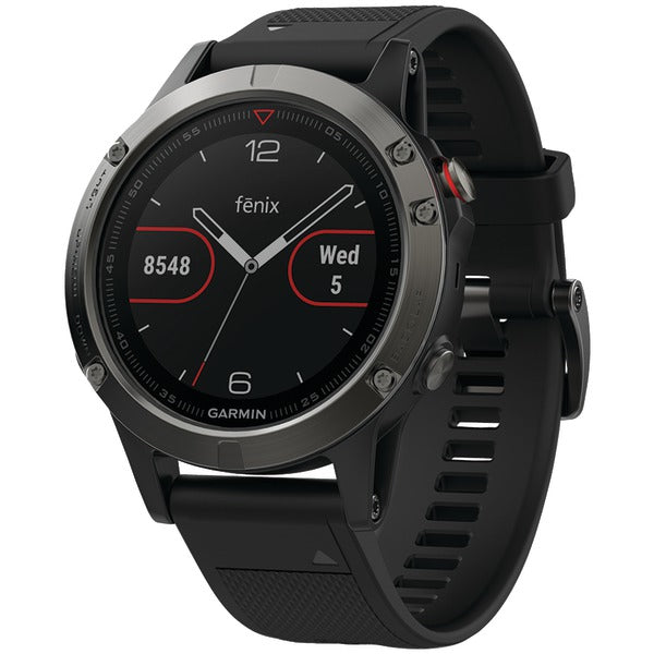 fenix(R) 5 47mm Multisport GPS Watch (Slate Gray with Black Band)