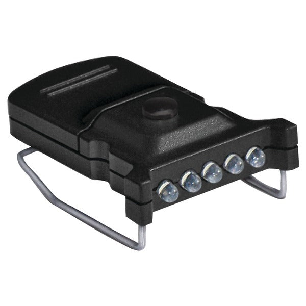 5-LED Micro Hat Clip Light
