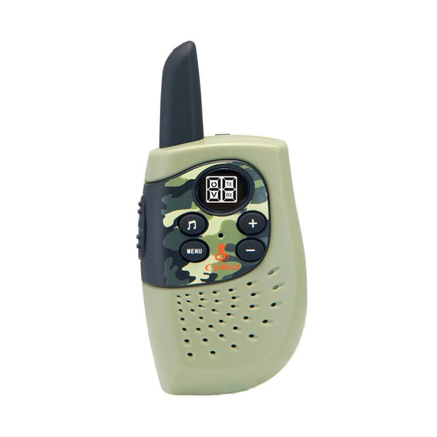 Cobra HE130G Kids 16-Mile Two-Way Radio/Walkie Talkie Green