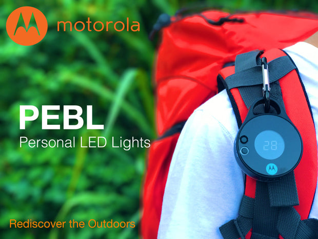Motorola PB330 PEBL Clip-On Survival Light + UV Sensor