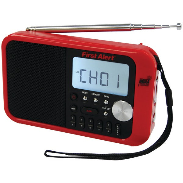 Digital Tuning AM/FM Weather Band Radio