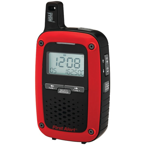 Portable AM/FM Digital Weather Radio with SAME Weather Alert
