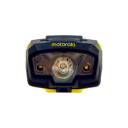 Motorola MHL240 240-Lumen LED IPx6 Water Resistant and Light Sensing Lightweight LUMO Headlamp Yellow/Black