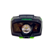 Motorola MHM240 240-Lumen LED IPx6 Water Resistant Motion and Light Sensing Lightweight LUMO Headlamp Green