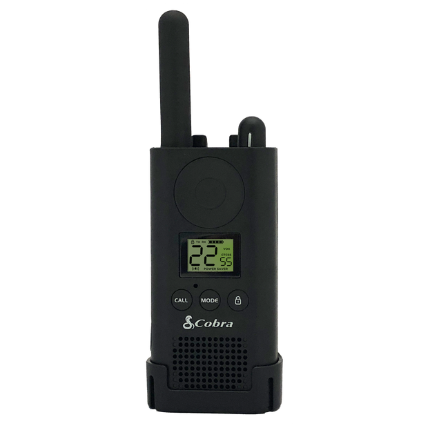 Cobra PX880 BC 25-Floor Extended Battery Two-Way Radio/Walkie Talkie Black