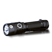 Motorola MR520 300-Lumen IPX7 Water-Resistant Rechargeable Pen Style LED Lightweight ReLED Flashlight Black