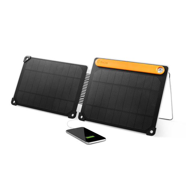 BioLite SolarPanel 10+ - Folding 10W Panel + Battery - SPC1001