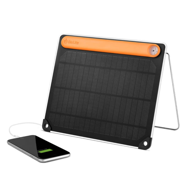 BioLite SolarPanel 5+ - 5w Solar Panel & On-Board Battery - SPA1001