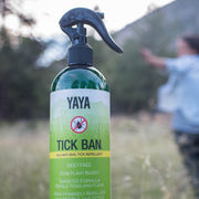 YaYa Organics TICK BAN All-Natural Tick Repellent 16 oz