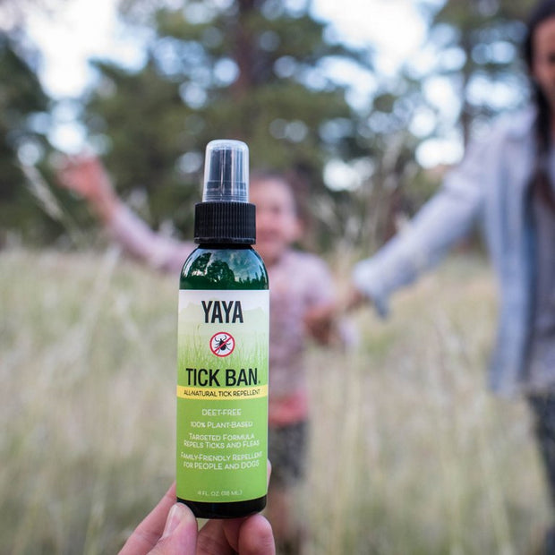 YaYa Organics TICK BAN All-Natural Tick Repellent 4 oz