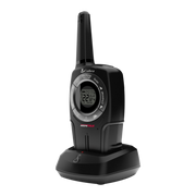 Cobra PR561BLT 32-Mile Water Resistant IPX2 Two-Way Radio/Walkie Talkie, Black, Single