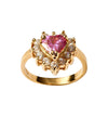 Mini Sweetheart Ring - Pink