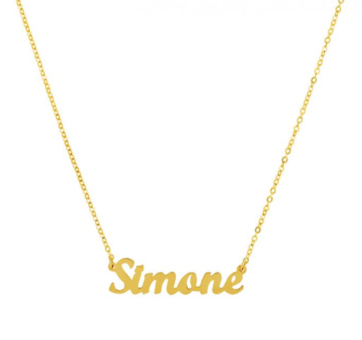 Personalised Classic Name Necklace