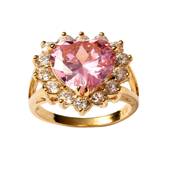 Sweetheart Ring - Pink