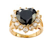 Sweetheart Ring - Black