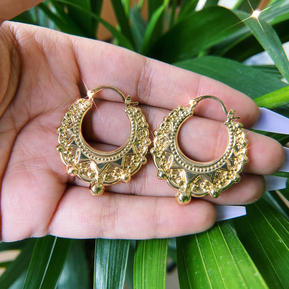 Round Creole Hoops