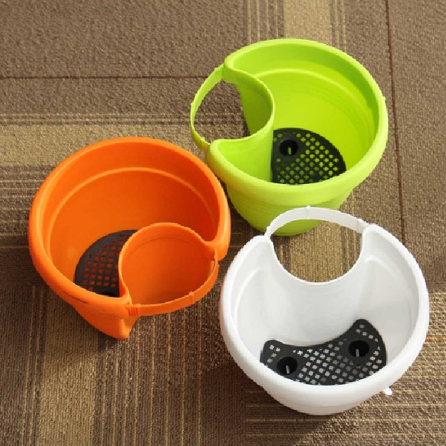 Drain pipe hanging pot : coffee cup pot pipe - www.happyfamilyinstitute.com