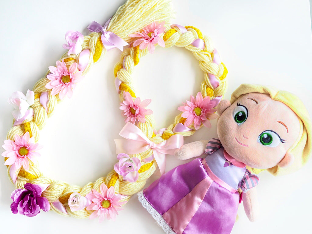 (PRE-ORDER) Rapunzel Tangled Braided Wig