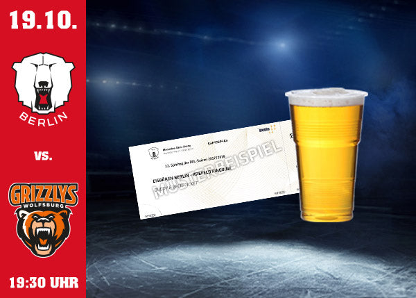 19.10. vs Wolfsburg Ticket & Bier