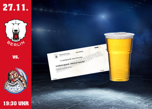 27.11. vs. Straubing Ticket & Bier