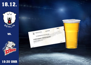 18.12. vs. Nürnberg Ticket & Bier