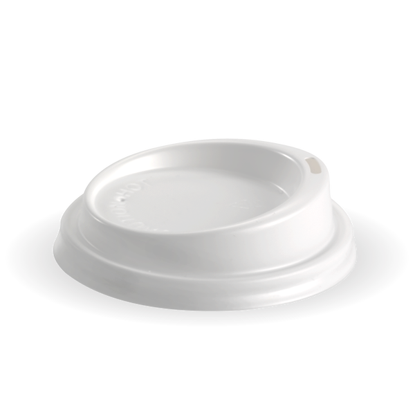 Biopak PS White Small Lid 80mm