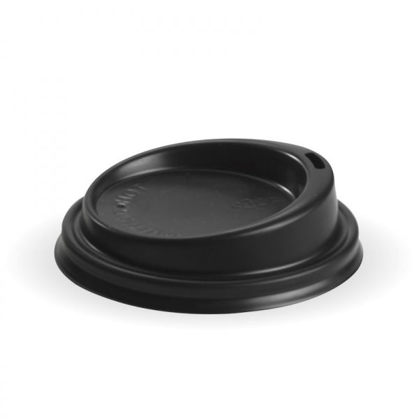 Biopak PS Black Small Lid 80mm
