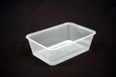 Rectangle Container 650ml
