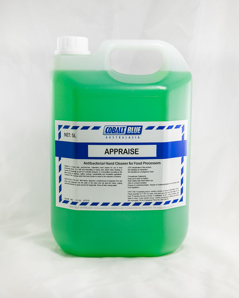 Appraise - Antibacterial Hand Cleaner for Food Processors