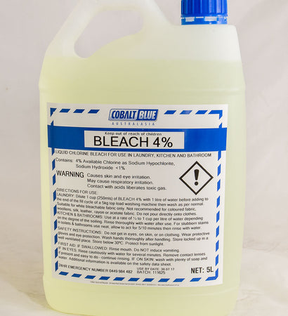 Cobalt Blue Bleach 4%