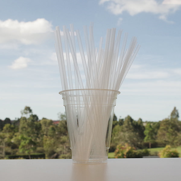 Ecostraw - Cocktail Straw Clear