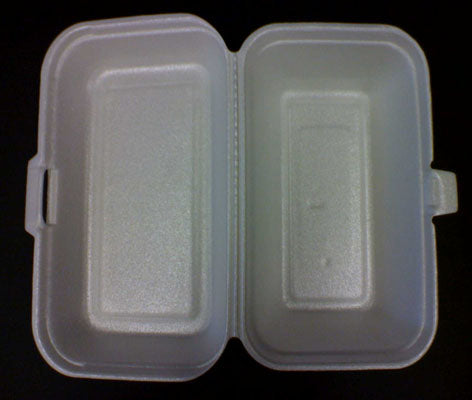 E-4 Foam Medium Lunch Box
