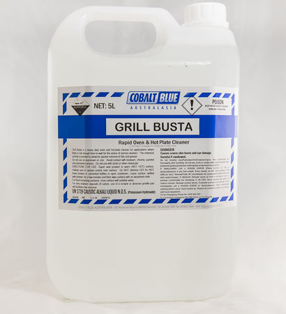 Grill Busta - Rapid Oven & Hot Plate Cleaner