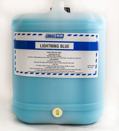Lightning Blue - Car, Truck, Boat Wash