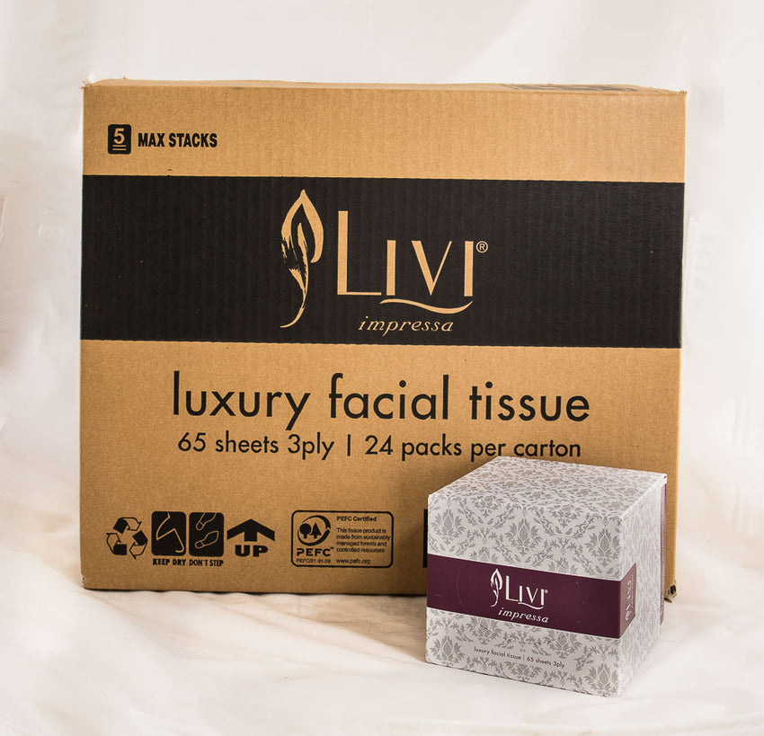 Livi - Luxury Facial Tissue 3ply